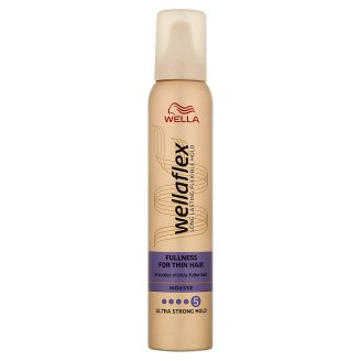 Wella Wellaflex Fullness for Thin Hair Ultra Strong Hold pěnové tužidlo 200ml