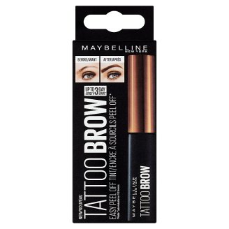 Maybelline New York Brow Tatoo inovativní semi-permanentní barva na obočí Medium Brown