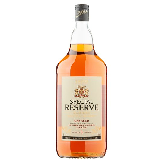 Tesco Special Reserve Blended Scotch Whisky 1.5L