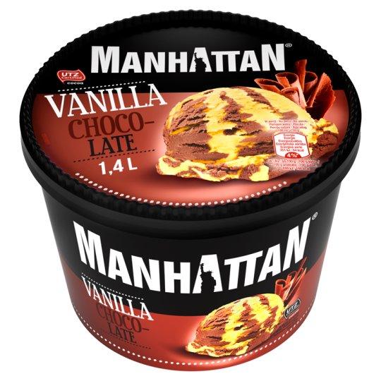 Manhattan Classic Mražený krém s vanilkovou a čokoládovou příchutí 1400ml
