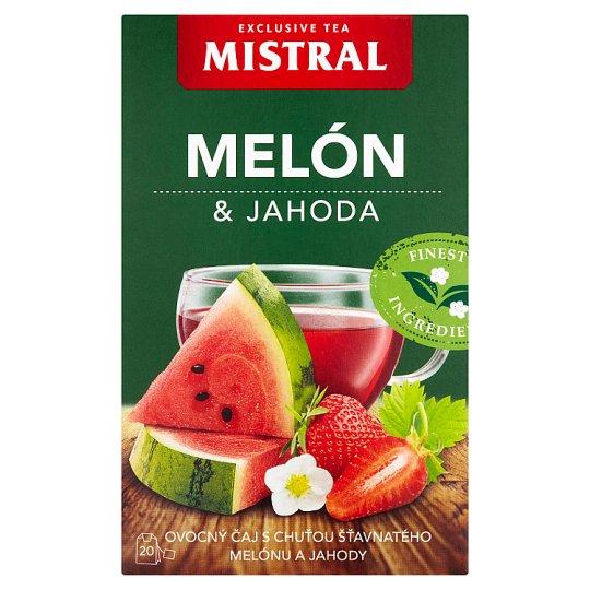 Mistral Ovocný čaj s příchutí meloun a jahoda 20 x 2g