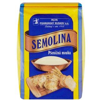 Mlyn Pohronský Ruskov Wheat Semolina Flour 900g