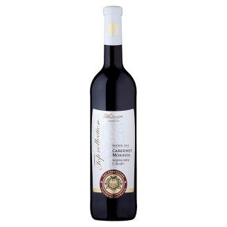 Vinařství Mutěnice Cabernet Moravia jakostní víno s přívlastkem pozdní sběr suché červené 0,75L