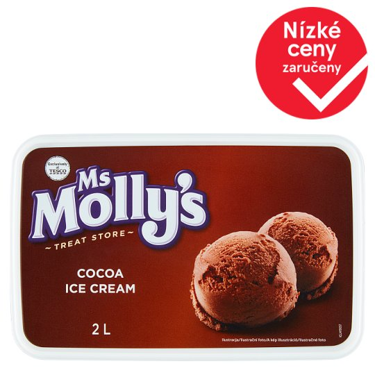 Ms Molly's Cocoa Ice Cream 2l