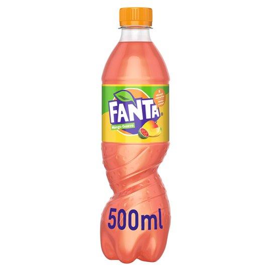 Fanta ManGoGo with Flavor of Manga and Guava 500ml