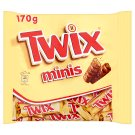 Twix Minis Biscuit with Caramel Dipped in Milk Chocolate 170g