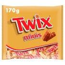 Twix Minis sušenka s karamelem máčená v mléčné čokoládě 170g