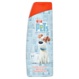 The Secret Life of Pets Shower and Bath Gel for Kids 400ml