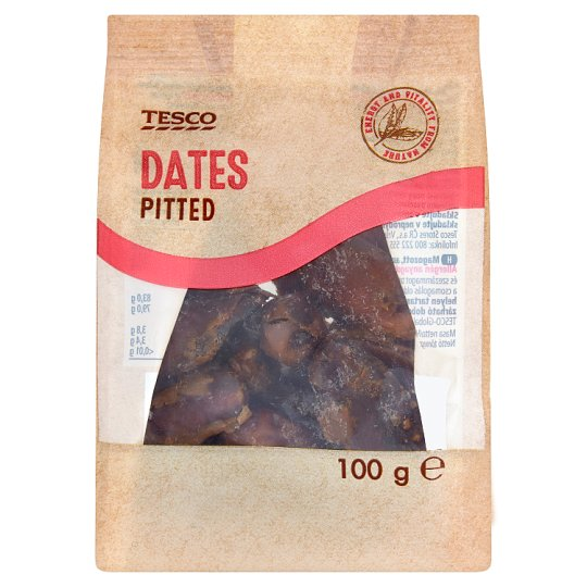 Tesco Dattes Pitted 100g