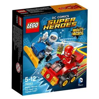 LEGO DC Comics Super Heroes Mighty Micros: Flash vs. Kapitán Cold 76063