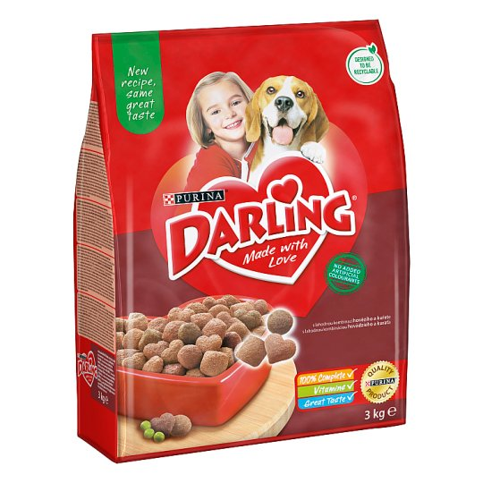 DARLING Grains for Dogs with Beef and Added Selected Vegetable 3kg