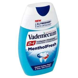 Vademecum Menthol Fresh 2v1 zubní pasta 75ml