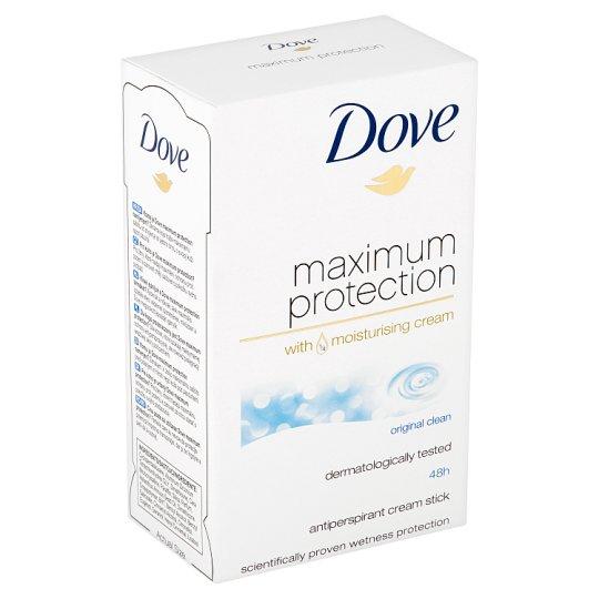 Dove Maximum Protection Original Clean Antiperspirant Cream 45ml