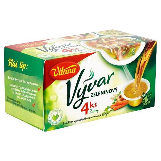 Vitana Vývar zeleninový 4 ks 112g
