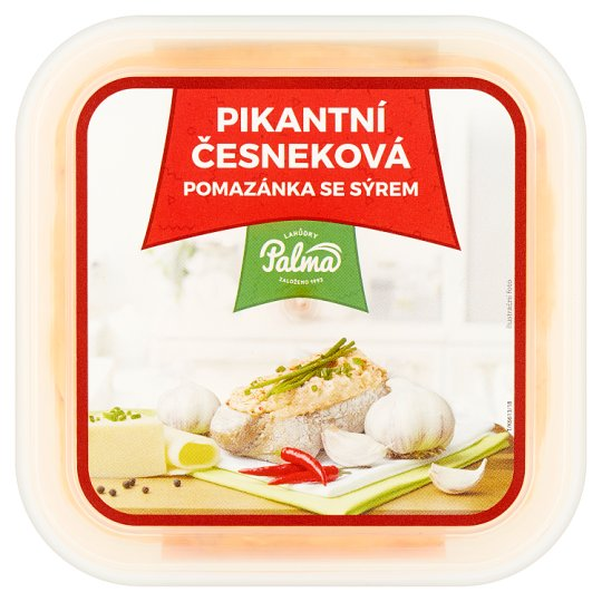 Lahůdky Palma Spicy Garlic Spread with Cheese 150g