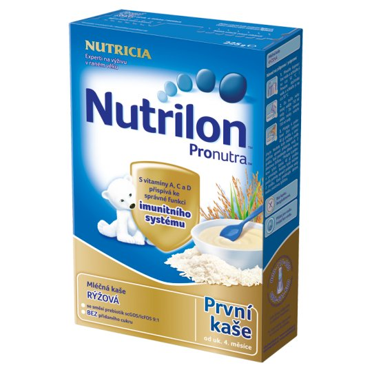 Nutrilon Pronutra First Baby Milk Pudding Rice 225g