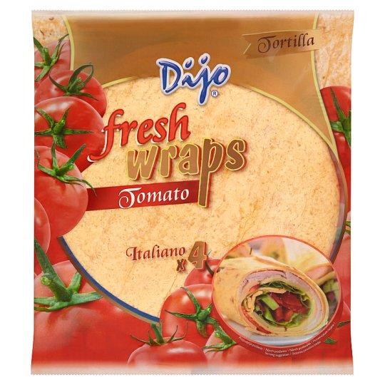 Dijo Fresh Wraps Tomato 4 pcs 250g