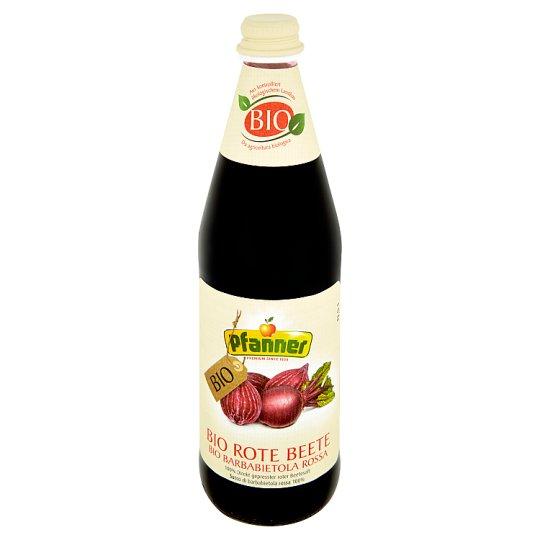 Pfanner 100% BIO zeleninový nápoj z červené řepy mléčně kvašený 0,5l