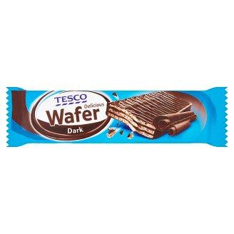 Tesco Oplatka s náplní s příchutí čokolády v čokoládě 33g