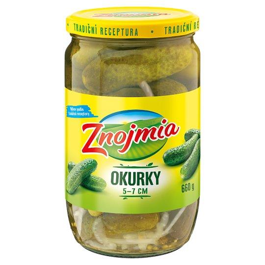 Znojmia Pickled Cucumbers 5-7 cm 660g
