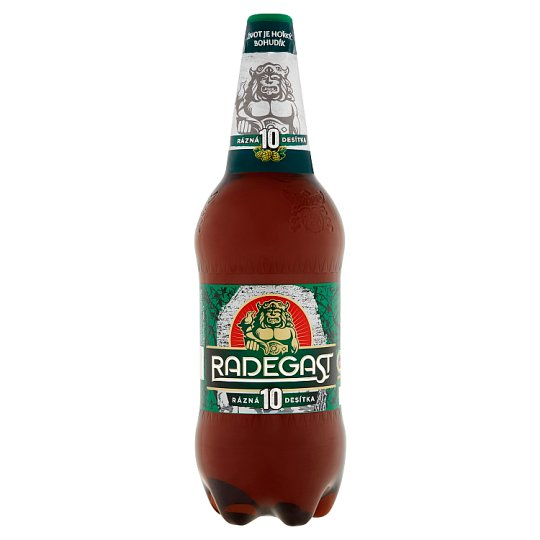Radegast Sharp 10 Bright Lager Beer 1.5L