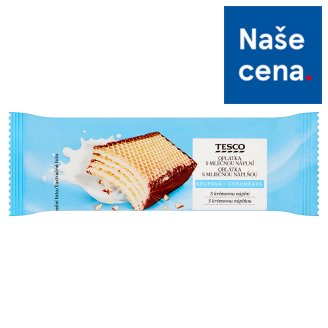 Tesco Biscuit with Milk Filling 47g