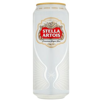 Stella Artois Pale Lager Beer 0.5L