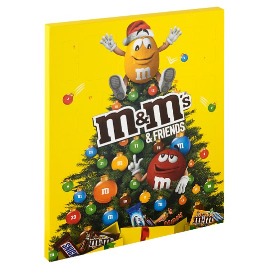 M&M's & Friends Advent Calendar 361g