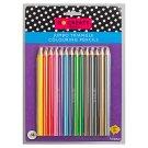 Tesco Go Create Jumbo Triangle Colouring Pencils 14 pcs