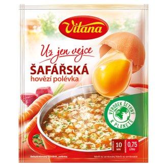 Vitana Už jen vejce Šafářská hovězí polévka 62g