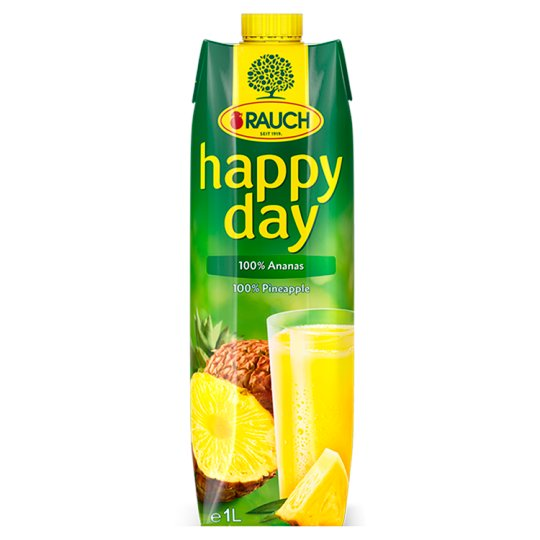 Rauch Happy Day 100% ananas 1l