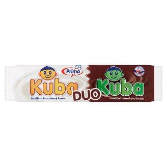 Prima Kuba Duo Mražený tvarohovo-kakaový krém v bílé polevě 50ml