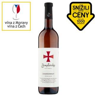 Templářské Sklepy Čejkovice Chardonnay bílé suché víno 0,75l