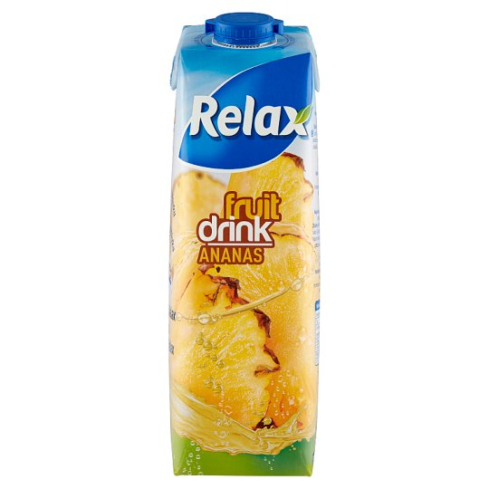 Relax Fruit Drink Pineapple 1L