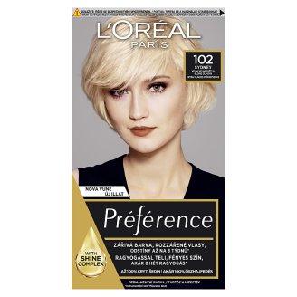L'Oréal Paris Féria Préférence velmi velmi světlá blond duhová 102