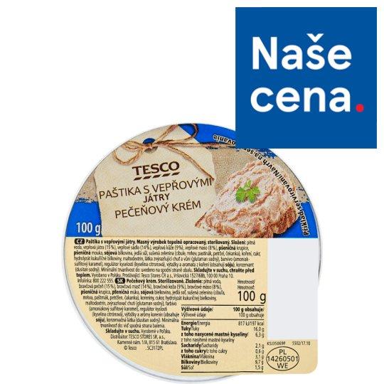 Tesco Pate with Pork Kidneys 100g