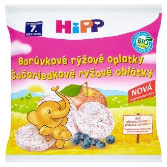 HiPP Bio borůvkové rýžové oplatky 30g