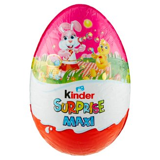 Kinder Surprise Maxi Sweet Egg with Milk Chocolate - with Surprise 220g