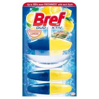 Bref Duo-Aktiv Mediterranean Lemon tekutý WC blok 3 x 50ml