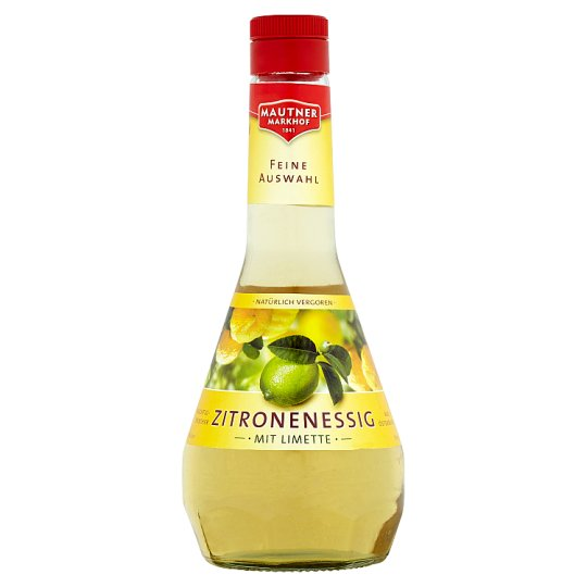 Mautner Markhof Lemon Vinegar with Lime 500ml