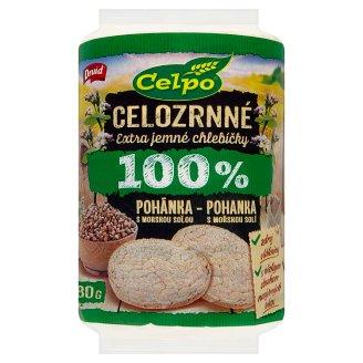 Druid Celpo Extra Fine Whole Grain Breads 100% Buckwheat with Sea Salt 80g