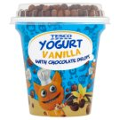 Tesco Vanilla Yogurt and Cereal Balls 107g