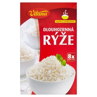Vitana Peeled Long Grain Rice 8 x 100g