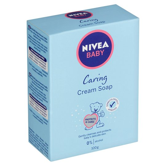 Nivea Baby Caring Cream Soap 100g