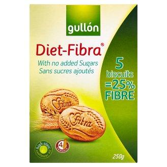 Gullón Diet-Fibra Sušenky bez přídavku cukru 250g
