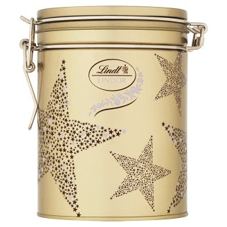 Lindt Lindor Mixture of Milk, White and Dark Chocolate with a Smooth Liquid Filling 12 pcs 150g