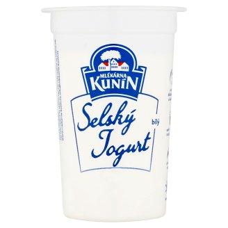 Mlékárna Kunín Selský jogurt bílý 200g