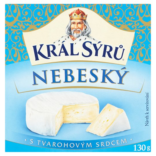 Král Sýrů Heavenly 130g