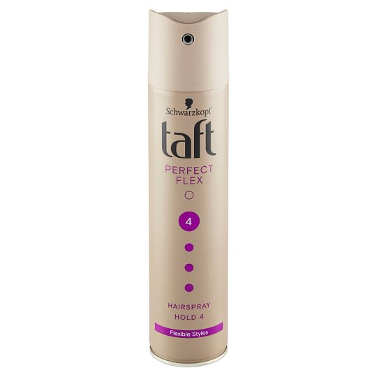 Taft Perfect Flex lak na vlasy Ultra Strong 4 250ml