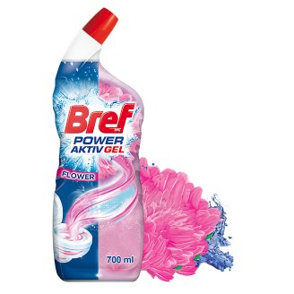 Bref Hygienically Clean & Shine Gel Floral Delight 700ml